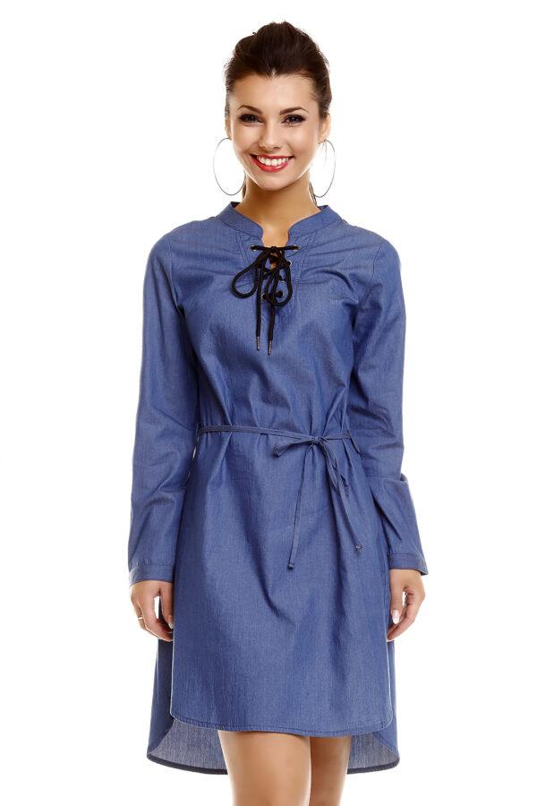 dress-denim-maia-hemera-oe78-dark-blue-3-pieces