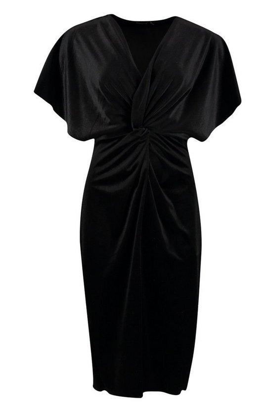 black-petite-velvet-twist-front-midi-dress2