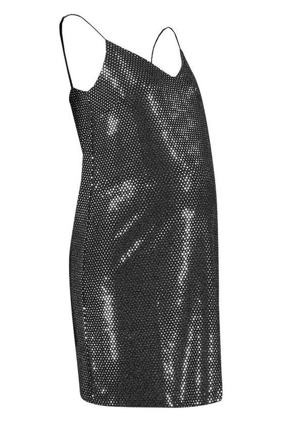 silver-maternity-sequin-cami-slip-dress2