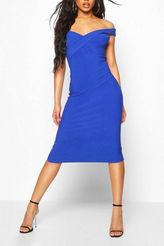 cobalt-bandage-rib-bardot-midi-dress3