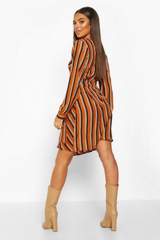 mustard-woven-stripe-wrap-mini-dress1