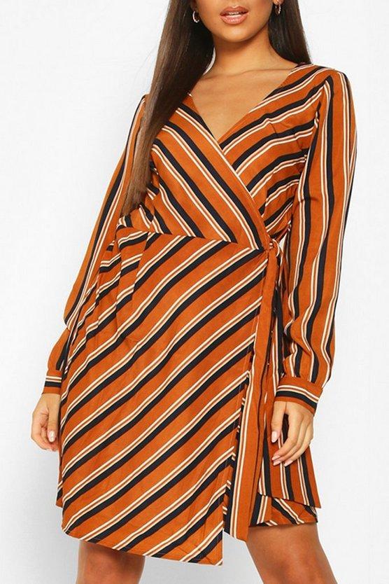 mustard-woven-stripe-wrap-mini-dress3