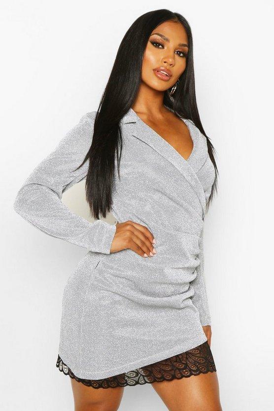 silver-structured-glitter-lace-trim-dress