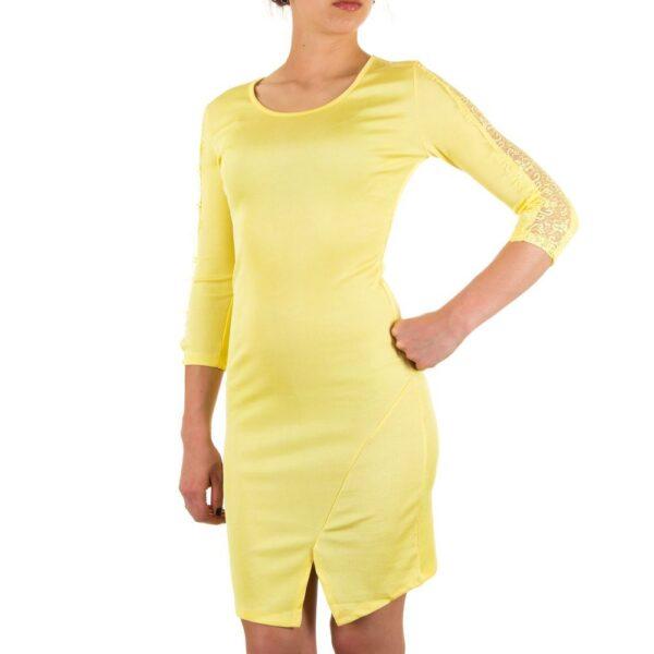 KL-J173-yellow_Damen-Kleid-yellow-KL-J173-yellow_b2