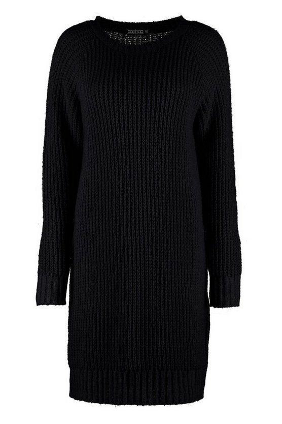 black-tall-soft-knit-jumper-dress2