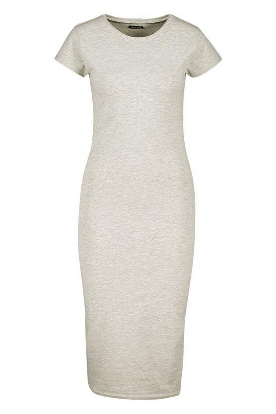 grey-marl-black-cap-sleeve-bodycon-midi-dress2