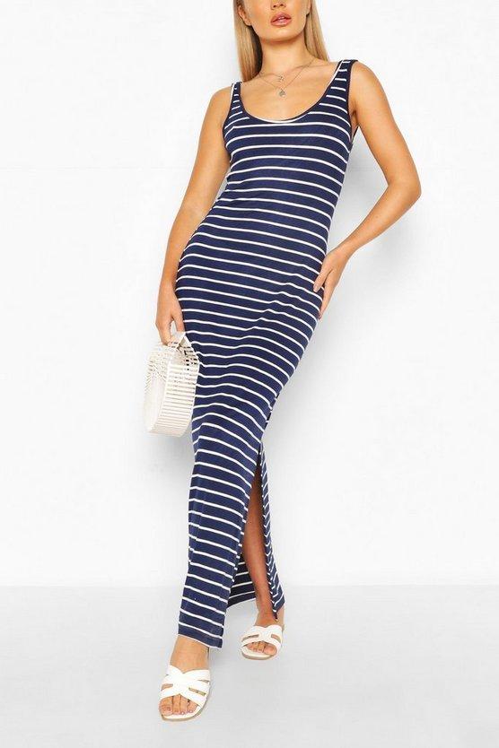 navy-striped-maxi-dress